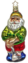 Fore! Golfing Santa Ornament by Inge Glas in Neustadt bei Coburg