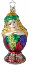 Goddess of the Grape Ornament by Inge Glas in Neustadt bei Coburg