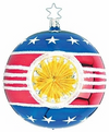 Star Spangled Stars & Stripes Reflector Ornament by Inge Glas in Neustadt bei Coburg