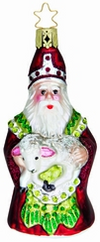 St. Nicholas with Lamb Ornament by Inge Glas in Neustadt bei Coburg