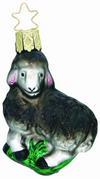Baa Baa Black Sheep Ornament by Inge Glas
