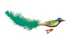 Feathered Green Bird Ornament by Inge Glas in Neustadt bei Coburg