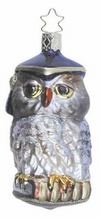 Academic Owl Ornament by Inge Glas