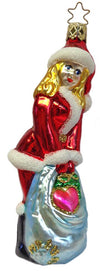 Santa's Secret Pal Ornament by Inge Glas in Neustadt bei Coburg