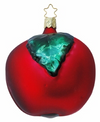 Large Red Delicious Apple Ornament by Inge Glas