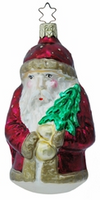 Salzburger Santa Ornament by Inge Glas in Neustadt bei Coburg