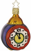 Almost Midnight Clock Ornament by Inge Glas