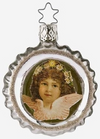 Sweet Thoughts, Angel on Reflector Ornament by Inge Glas in Neustadt bei Coburg