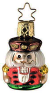 Mini Nut King Ornament by Inge Glas