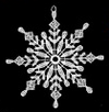 Lace Snowstar with Eight Tips Ornament by Stickservice Patrick Vogel