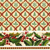 Christmas Patterns Luncheon Size Paper Napkins by Made by Paper + Design GmbH