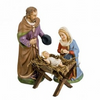 Holy Family, 17cm Scale,  Paper Mache Figurines by Marolin