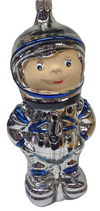 Matte Faced Astronaut Ornament by Hausdorfer Glas Manufaktur