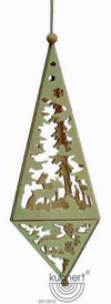 Tree ornament big pyramid
