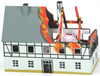 Firehouse - Burning House Miniature