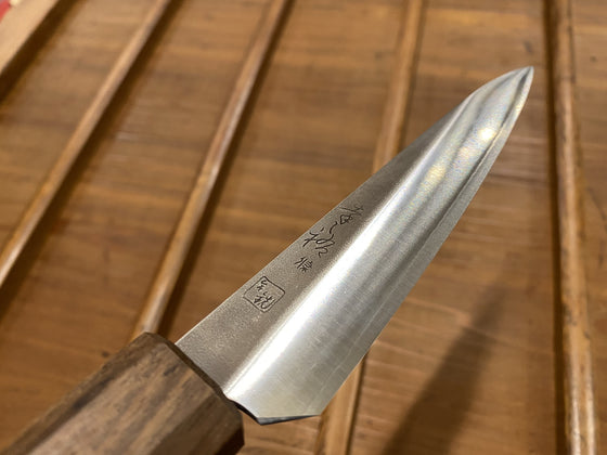 Bernal Cutlery / Konosuke GS+ 140mm Ko-Sabaki Butcher's Petty SLD Khii Laurel W Saya