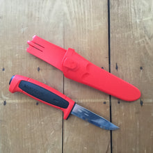 Morakniv Basic 511 - Red/Black - Carbon Steel