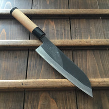 Tsukasa Hinoura 'River Jump' 180mm Wa-Santoku Enju Handle