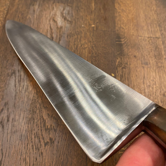"K Sabatier 'New Old Stock' 12"" Chef 'Canadian' Carbon"