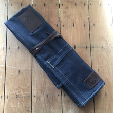 Ubi-IND Blue Denim Knife Roll
