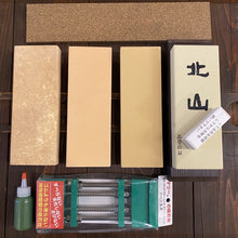 Japanese Knife 4 Stone Complete Double / Single Bevel Maintenance Sharpening Kit