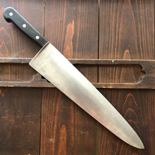 "J A Henckels 14"" Chef Knife Carbon Steel 1950's Solingen"
