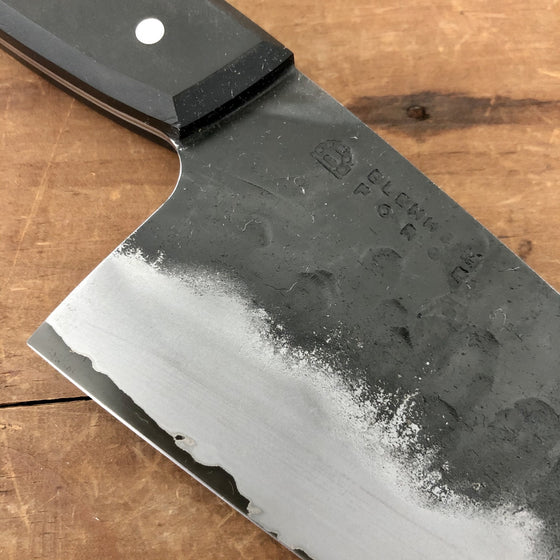 Blenheim Forge 205mm Western Gyuto - Stainless Clad Aogami Super - RichLite and stainless Handle