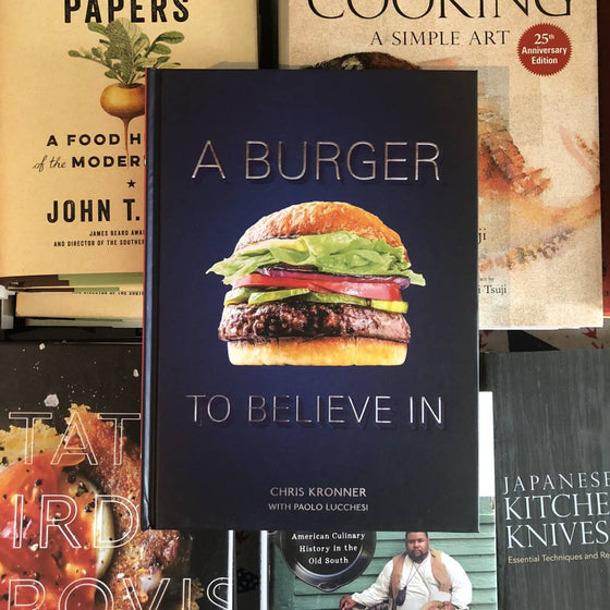 A Burger To Believe In - Book