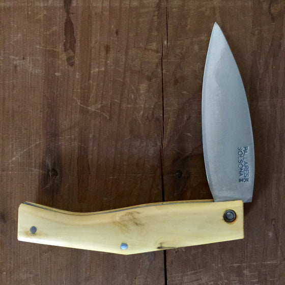Pallares Busa 10cm Folder - Stainless - Boxwood