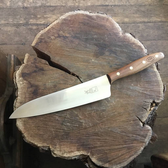 "Windmühlenmesser 'K Chef' 9"" - Stainless - Walnut"