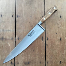 "K Sabatier 10"" Chef 'Authentique' Carbon Steel - Olive Handle"