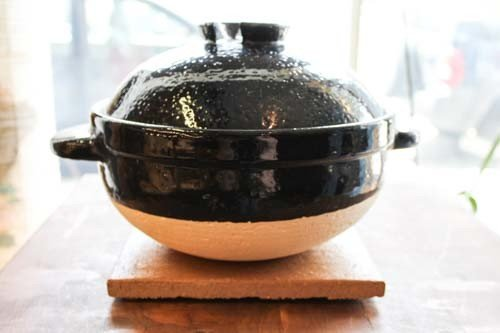Nagatani-en Kamado-san Rice Donabe Large - Three Cup
