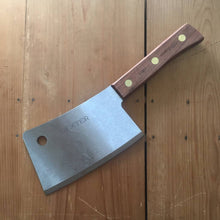 "Dexter Russell 7"" Meat Cleaver Carbon Rosewood"
