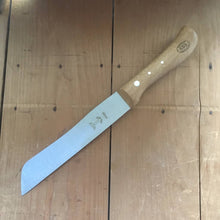 "Windmühlenmesser 6.75"" 'Hamburger' Bread Knife- Carbon - Copper Beech"