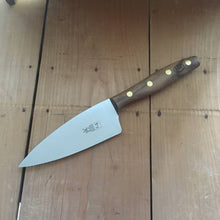 "Windmühlenmesser 'K4' 5"" Chef - Stainless - Walnut Handle"