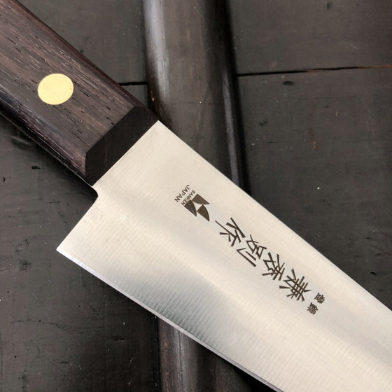Kanehide 150mm Honesuki Kaku Semi Stainless Japanese Butcher Knife