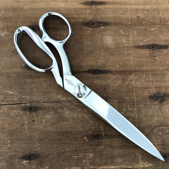 "Ernest Wright Left Handed 10"" Tailor Shears - Carbon Steel"
