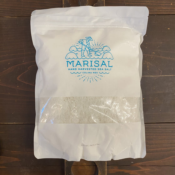 Marisal Sea Salt Harvested in Colima, Mexico - 1 Kilo