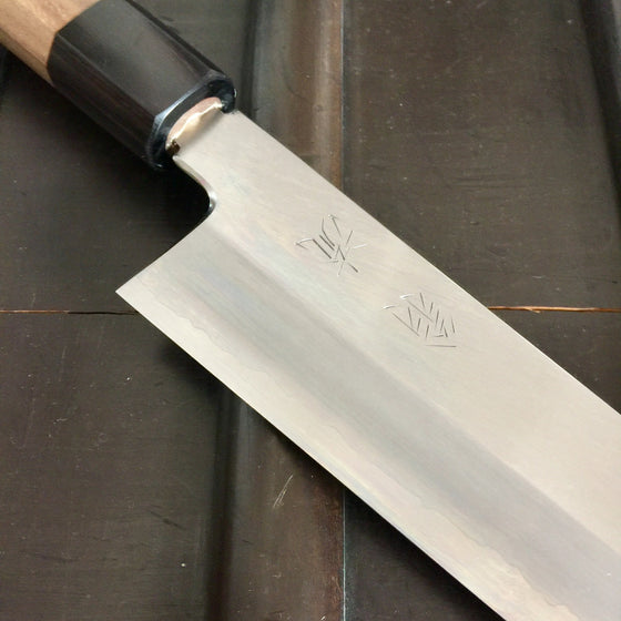 OUL 240mm Wa Gyuto Ginsanko - Walnut Octagon