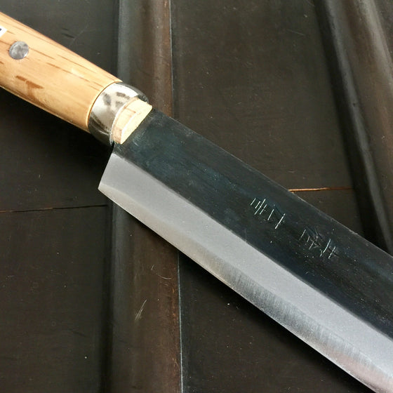 Tosa 180mm Takewari Bamboo Knife - Aogami 2