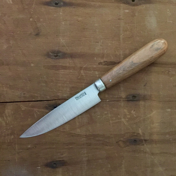 "Pallares 4"" Table & Kitchen Knife Stainless - Holm Oak"