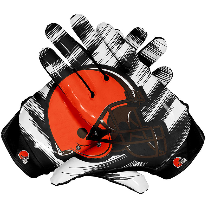 Elite Gears Cleveland Browns Football Gloves