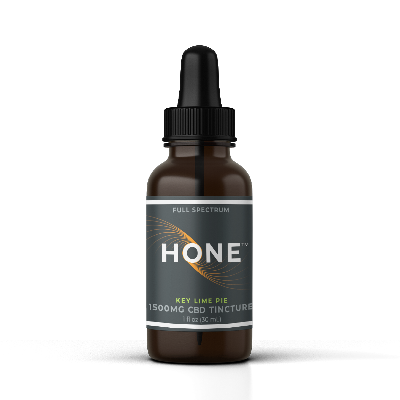 Hone Key Lime 1500mg CBD Oil