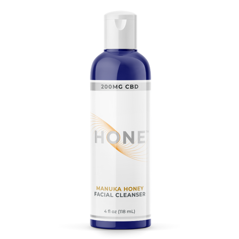 Hone Manuka Honey CBD Facial Cleanser 200mg
