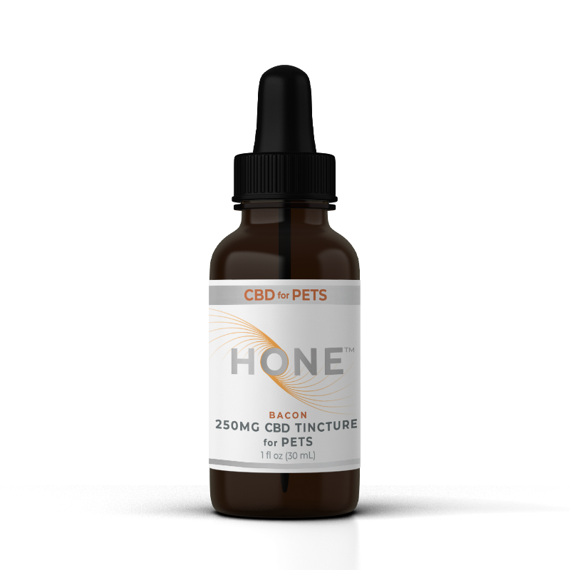 Hone Bacon Flavored 250mg Pet CBD Oil
