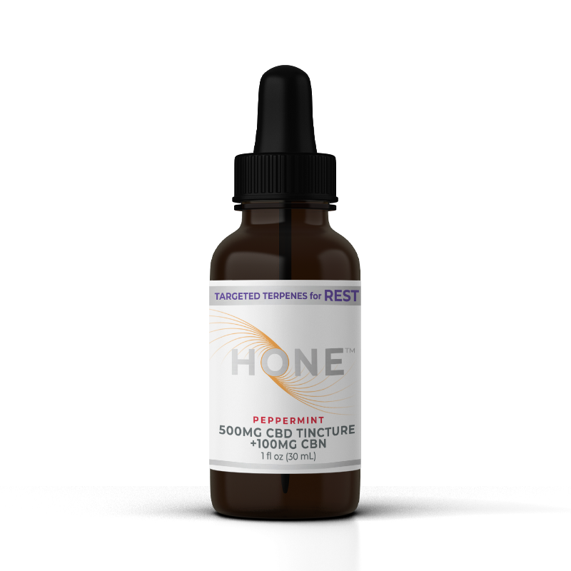 Hone Peppermint 500mg CBD Oil for Rest