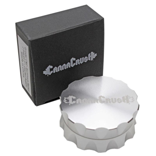 "CannaCrush Grooved 2"" 2-Piece Grinder"