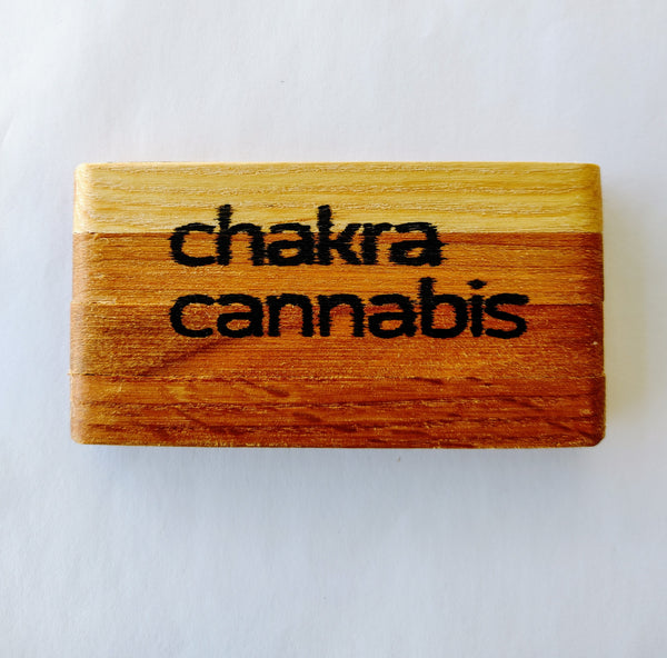Chakra Cannabis Cedar Pre-Roll Holder