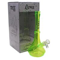 "Tree Glass 10"" Brights Mini Glass Beaker Bong"