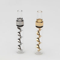 Genuine Pipe Co Mini Glass Blunt w/ Corkscrew Twist